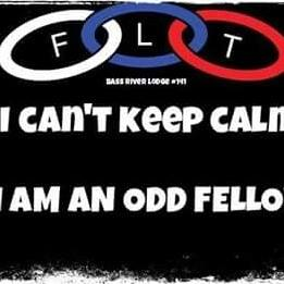 keep calm im an odd fellow